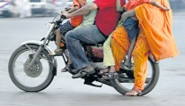 Pakistan-Bike-Family